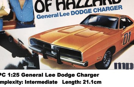 MPC 1:25 General Lee Dodge Charger (Dukes of Hazzard) Kit Review at 71921 Amity AR