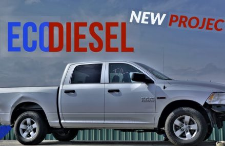 Rebuilding a Wrecked 2016 Dodge Ram 1500 EcoDiesel Part 1 Local 95066 Scotts Valley CA