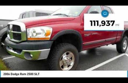 2006 Dodge Ram 2500 York PA S180722B Area Near 92123 San Diego CA