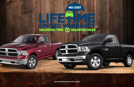 A Free Lifetime Warranty Included! Dick Hannah Ram Truck Center. Local Area 78960 Warda TX