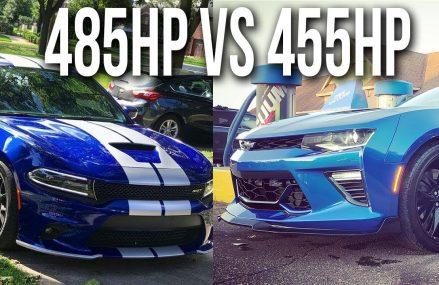 18 Scatpack Charger vs 17 Camaro SS | Highway Rolls Within Zip 41001 Alexandria KY