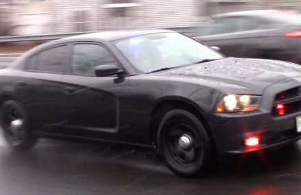 Unmarked Dodge Charger Police Car Responding 3-2-18 Around Zip 61230 Albany IL