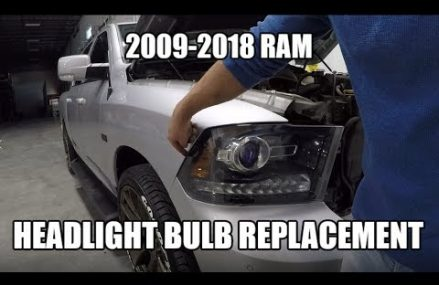 Removing the Headlights and Grille on your RAM 1500 2500 3500 – DIY HOW TO Near 91776 San Gabriel CA