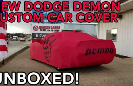 Dodge Demon Custom Car Cover UNBOXING! For 15713 Aultman PA
