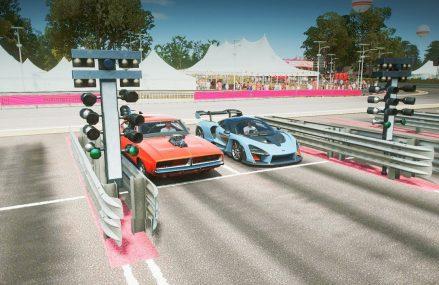 Forza Horizon 4 – McLaren Senna vs 1000+HP Dodge Charger Drag Race! Around Zip 91066 Arcadia CA