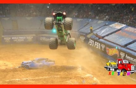 Monster Jam Freestyle Competition! Grave Digger, Max D, El Toro Loco, Wonderwoman, Zombie From 4291 West Poland ME