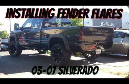 INSTALLING FENDER FLARES in 6092 West Simsbury CT