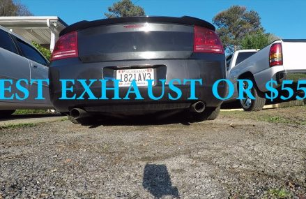 BEST SOUNDING EXHAUST FOR $550 FOR THE DODGE CHARGER! Within Zip 21285 Baltimore MD
