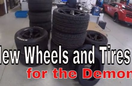 New wheels and tires for the Demon From 62510 Assumption IL