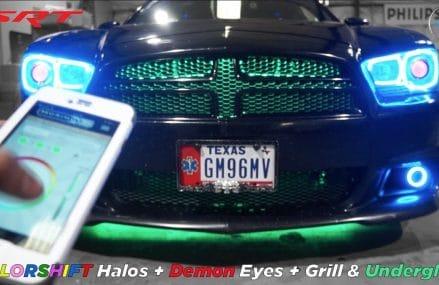 Dodge Charger Super Bee Halo Demon Eyes Grill Lights Under-glow Around Zip 56516 Bejou MN