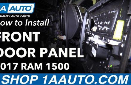How to Remove Reinstall Front Door Panel 2017 Ram 1500 Local 54670 Wilton WI