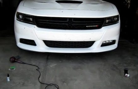 Tinting my Dodge Charger SXT Plus Fog Lights Local Area 78763 Austin TX
