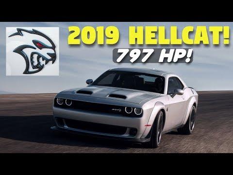 What's New for the 2019 Dodge Challenger SRT Hellcat? More Horsepower, & NEW Redeye Model! 2019