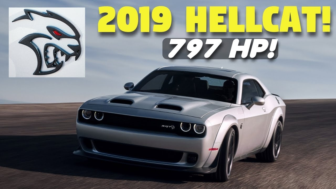 What's New for the 2019 Dodge Challenger SRT Hellcat? More ...