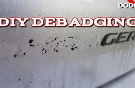 Debadging a car: How to DIY Debadging (Removing Emblems) Charger RT Back Badges. Within Zip 79159 Amarillo TX
