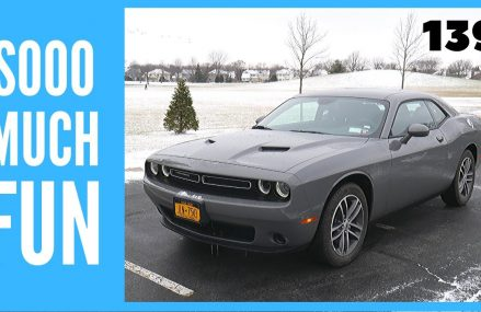 2019 Dodge Challenger SXT AWD // review and test drive // 100 rental cars at Lees Summit 64065 MO