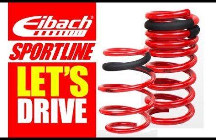 Eibach Sportline Lowering Spring Test Drive at 75551 Atlanta TX