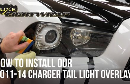 How To Install Our 2011-14 Charger Head Light Tint Overlay Kit Within Zip 60803 Alsip IL