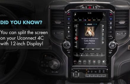 Quick Tip:  Split Screen Display  |  2019 Ram 1500 with 12-inch Display From 14545 Scottsburg NY