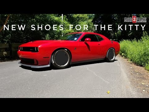 Let's Talk About Light Weight Wheels on A Heavy Car Challenger Hellcat 2018