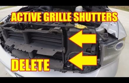 How To Remove the Active Grille Shutters from a RAM 1500 Near 62476 West Salem IL