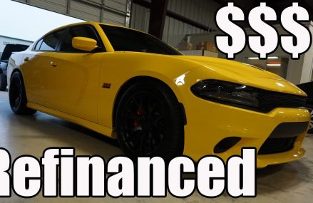 I refinanced my Scatpack. Here is the new payment cost. From 50833 Bedford IA