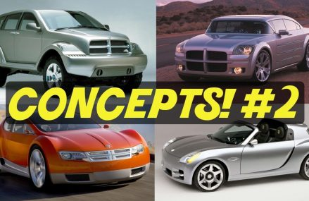 4 Awesome Dodge Concept Cars We Forgot About! // PART 2! at 70710 Addis LA