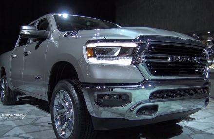 2019 RAM 1500 Big Horn – Exterior And Interior Walkaround – 2018 Detroit Auto Show Around Streets in 37187 White Bluff TN