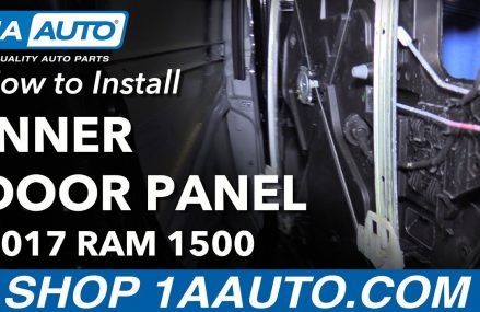 How to Remove Reinstall Rear Inner Door Panel 2017 Ram 1500 Local 79382 Wolfforth TX
