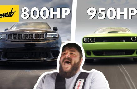 1750 Horsepower Combined! Jeep TrackHawk & Dodge Hellcat | The New Car Show Now at 51004 Anthon IA