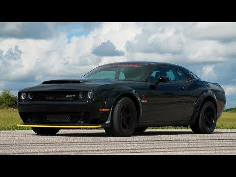 1200 HP Dodge Demon Validation Testing 2019