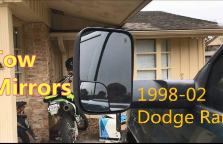 How to Install Tow Mirrors Upgrade 1998-02 Dodge Ram 2500 ▎Yitamotor From 84081 West Jordan UT