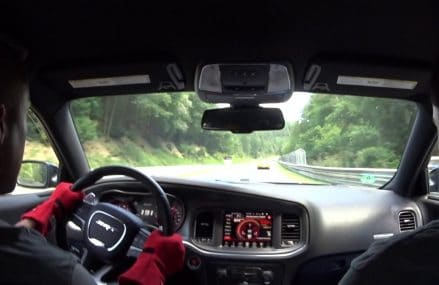 Dodge Charger Hellcat takes on Mercedes AMG GT & Porsches on Nurburgring! Now at 12225 Albany NY