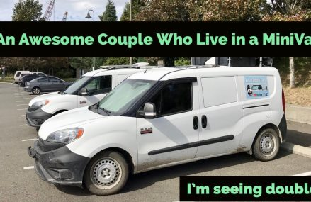 An Awesome Couple Who Live in a MiniVan! Local 52351 Walford IA
