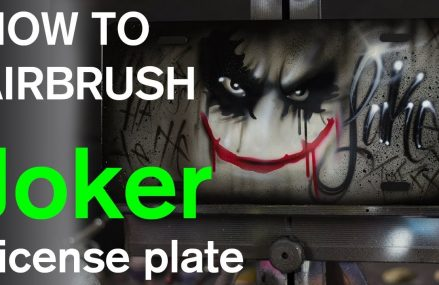 How To Airbrush A License Plate The Right Way Area Near 76715 Waco TX
