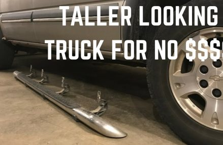 Remove Your Step Bars and Make Your Truck Look Taller! Area Near 68065 Valparaiso NE