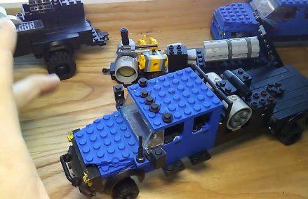 Custom Lego Dodge ram diesel oil field trucks Locally At 90734 San Pedro CA
