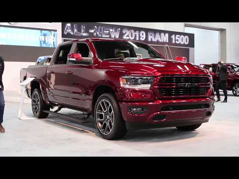 All-New 2019 Ram 1500 Sport | Canadian Exclusive Exterior Features Dodge Ram On 24s