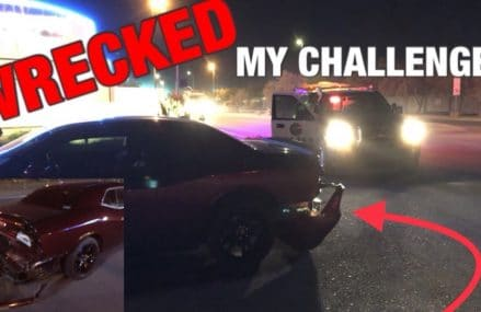 I Almost Got CARJACKED! CRASHED My 2017 Dodge Challenger Locally at 55568 Young America MN