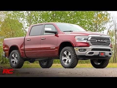 2019 Ram 1500 3.5-inch Suspension Lift Kit by Rough Country Dodge Ram Lift Kit
