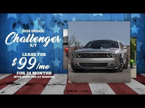 Shuman CDJR Memorial Day Sale! Dodge Challenger & Ram 1500 Dodge Ram Lease Deals