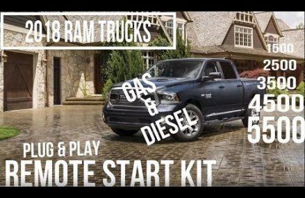 2018 RAM Truck Plug & Play Remote Start Kit Locally At 12993 Westport NY