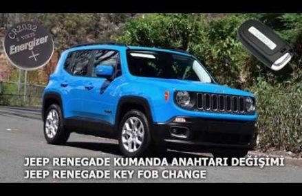 Jeep Kumanda Pil Değişimi – Key Fob Battery Change Local 76689 Valley Mills TX