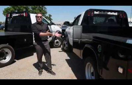 Work Truck Gooseneck Body on Ram Truck Around Streets in 2790 Westport MA