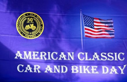 POMC American classic car and bike day
