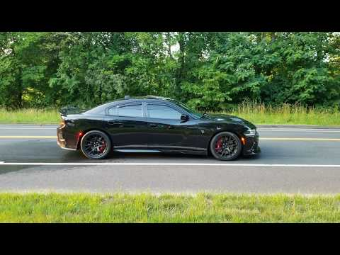 2016 Dodge Charger Hellcat monster burnout 4K 2018