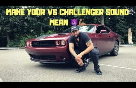 How to WAKE up That Quiet V6 Challenger!!!! Within Zip 14012 Barker NY