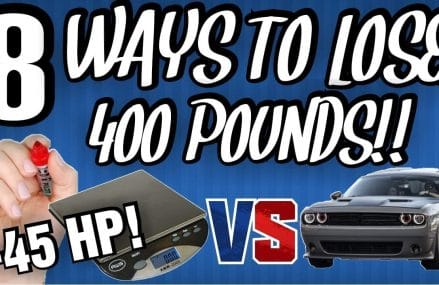 Weight Reduction on Dodge Challenger!! 8 Ways to lose 400+ Pounds!! at Manchester 5254 VT