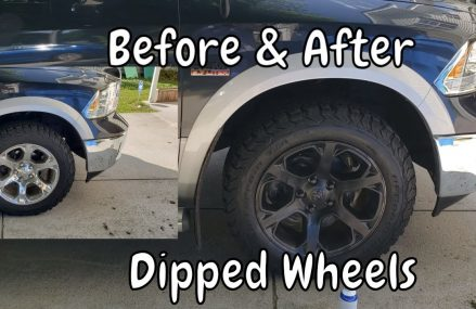 PLASTI DIPPED WHEELS | Ram 1500 Before and After in 30184 White GA