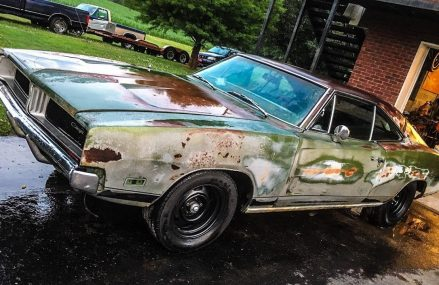 RATTY 1969 CHARGER GETS NEW BRAKES! in 15006 Bairdford PA